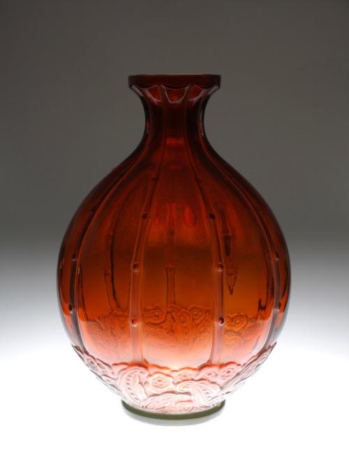 "Baccarat Vase \""Georges DUNAIME\""_c0108595_23185425.jpg"