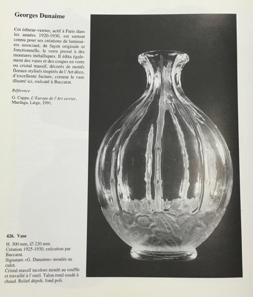 "Baccarat Vase \""Georges DUNAIME\""_c0108595_23214488.jpg"