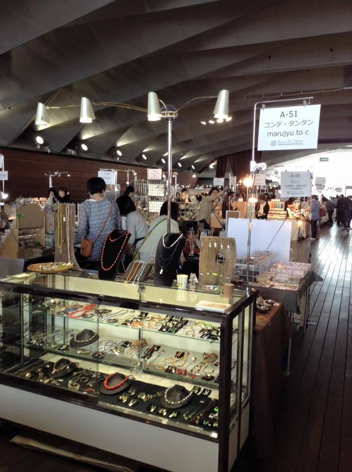 Bead art Show YOKOHAMA 2016 始まりました。_b0249499_21461849.jpg
