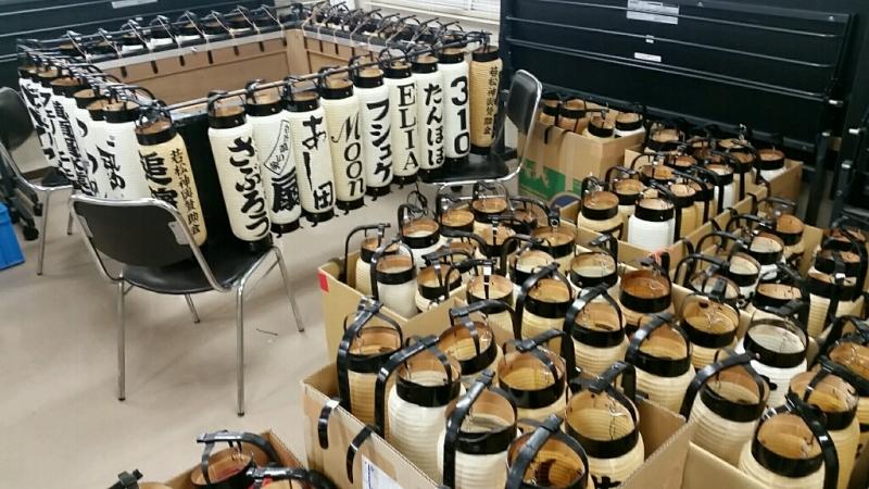 2016年横須賀 諏訪神社 例大祭 駐車禁止貼紙はり_d0092901_22223068.jpg