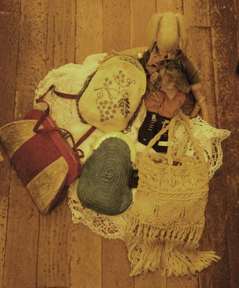 French antique bag_f0144612_15442219.jpg