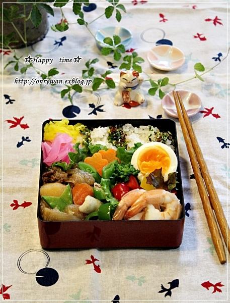 肉じゃが弁当とキムチ炒飯♪_f0348032_19254663.jpg