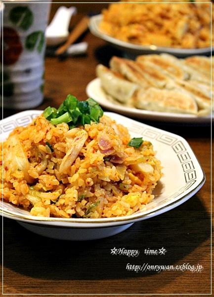 肉じゃが弁当とキムチ炒飯♪_f0348032_19255408.jpg
