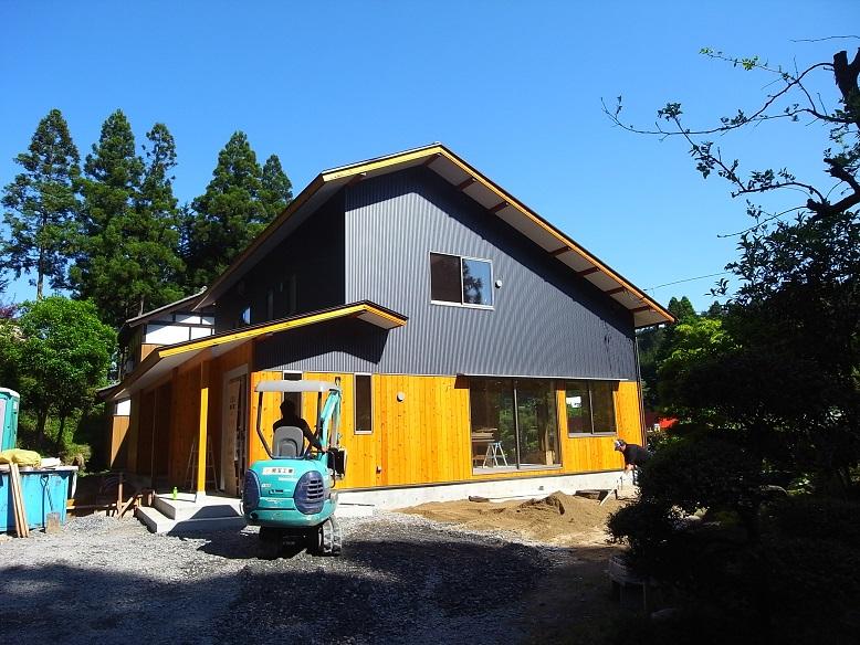 笠間の家Ⅱ 仕上げ工事-1_a0039934_16181926.jpg
