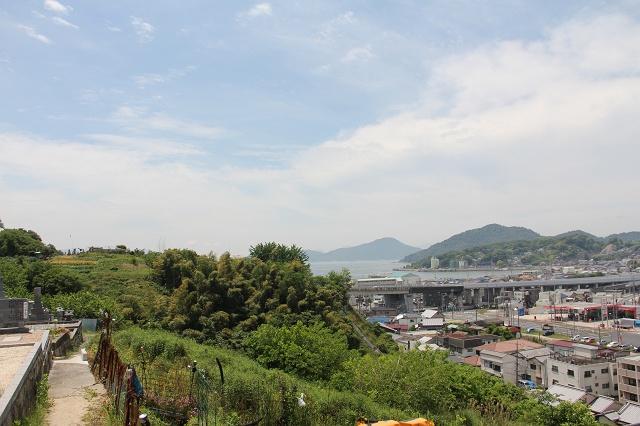 坂町遊歩道頭部ルートの途中から、坂町中心部を見渡す その3_b0095061_20205644.jpg
