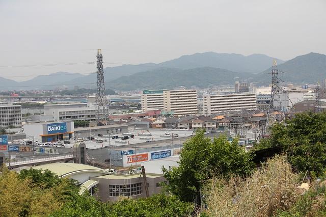 坂町遊歩道頭部ルートの途中から、坂町中心部を見渡す その3_b0095061_20213838.jpg