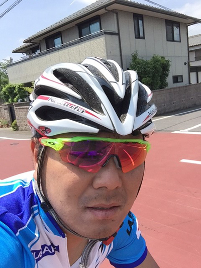 金栄堂サポート:MINOURA大垣レーシング・佐野伸弥選手アイウェアインプレッション!_c0003493_9244280.jpg