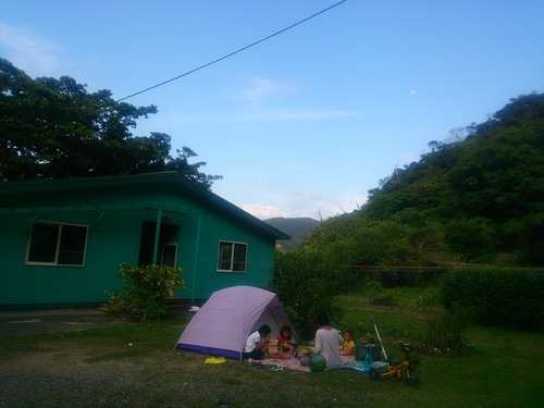 おうちキャンプごっこ_e0220493_0135157.jpg