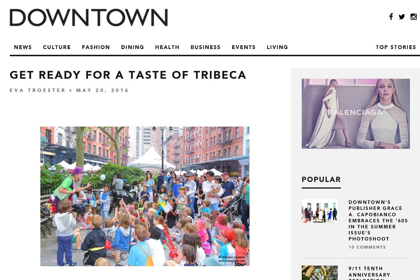 『Downtown Magazine NYC』写真掲載について_a0274805_03041967.jpg
