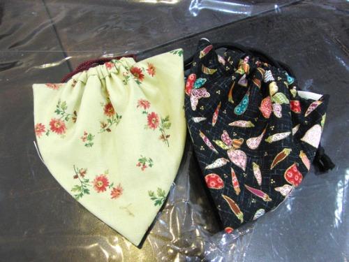 裁縫 ~ キルトのイチゴ型巾着 ~_e0222340_14575250.jpg