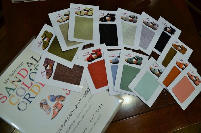 """BARCLAY~35色から選べるサンダルオーダー会・・・予告編\""_d0153941_1553797.jpg"