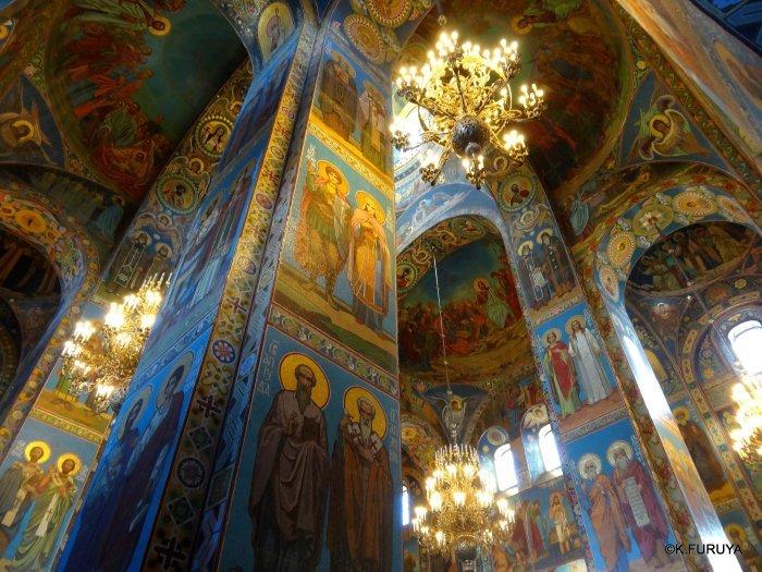 ロシアの旅 6 血の上の救世主教会_a0092659_22531439.jpg