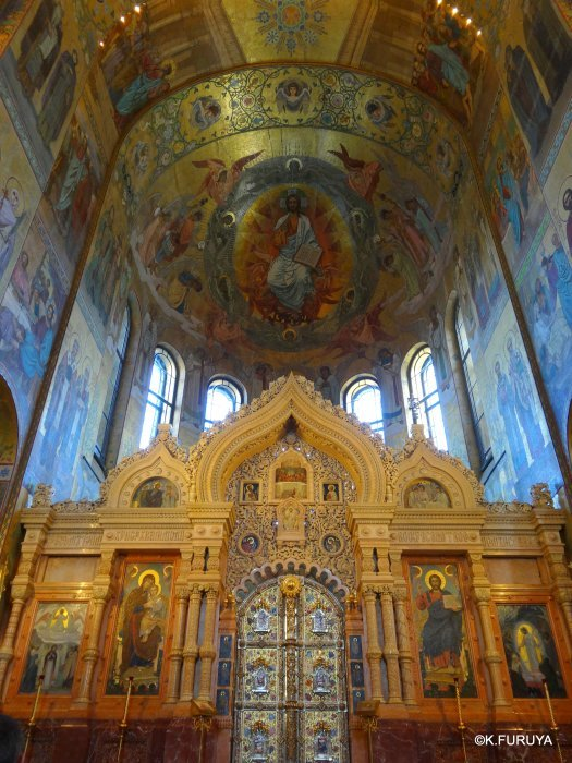 ロシアの旅 6 血の上の救世主教会_a0092659_22572711.jpg