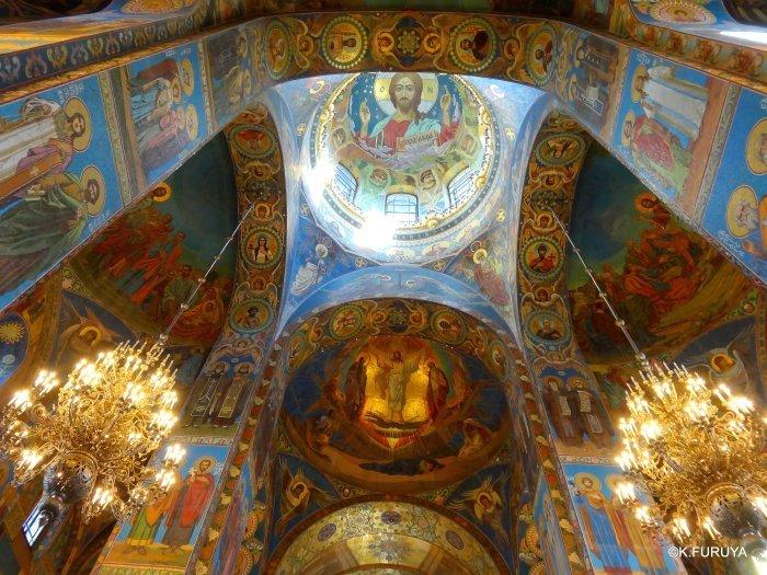 ロシアの旅 6 血の上の救世主教会_a0092659_23025448.jpg