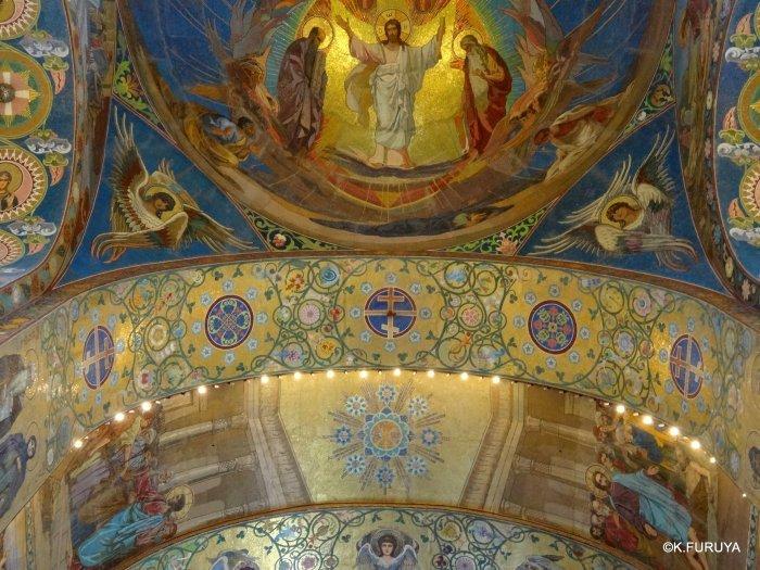 ロシアの旅 6 血の上の救世主教会_a0092659_23090840.jpg
