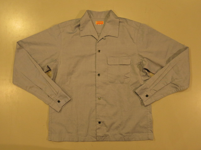 """SOURCE-TAP × TheThreeRobbers OPEN COLLAR SHIRTS\""ってこんなこと。_c0140560_10164570.jpg"