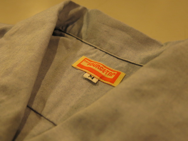 """SOURCE-TAP × TheThreeRobbers OPEN COLLAR SHIRTS\""ってこんなこと。_c0140560_10172292.jpg"