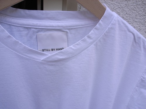STILL BY HAND プリント Tシャツ_d0334060_13345680.jpg