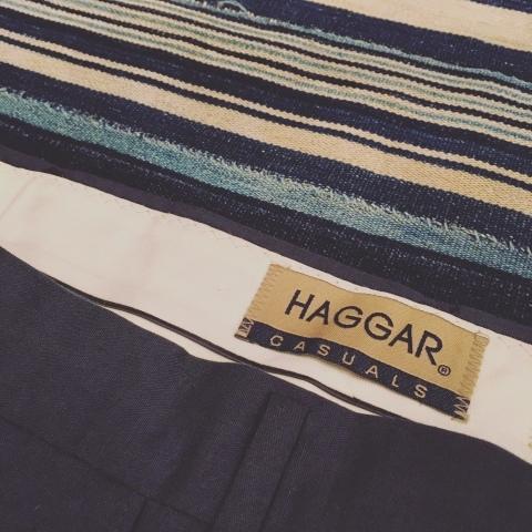 "1980s \"" HAGGAR -MADE IN U.S.A- \"" CLASSIC CTN SLACKS - DEAD STOCK - ._d0172088_18523013.jpg"