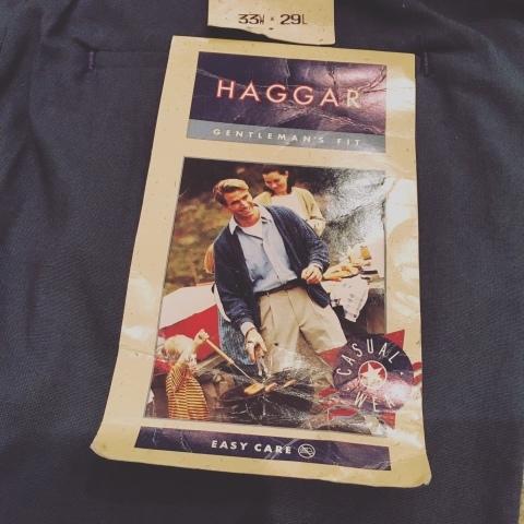 "1980s \"" HAGGAR -MADE IN U.S.A- \"" CLASSIC CTN SLACKS - DEAD STOCK - ._d0172088_19204634.jpg"