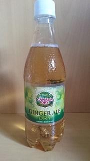 ジンジャーエール買って飲んだ こんな味だったけな_d0132289_17113234.jpg