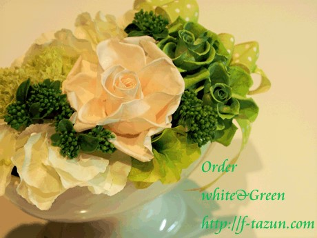 【White/Green/Farewell Thanking】_d0144095_222401.jpg