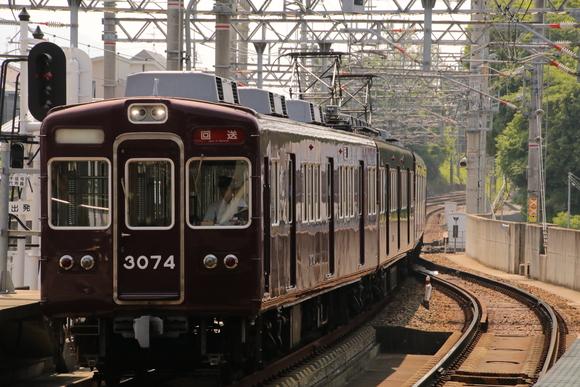 阪急箕面線 車両回送・・_d0202264_1761438.jpg