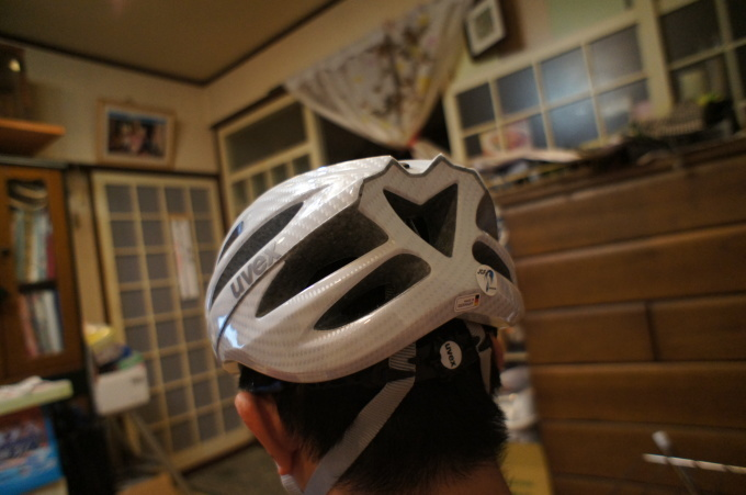 UVEX(ウベックス)の自転車ヘルメット_b0369489_20235009.jpg