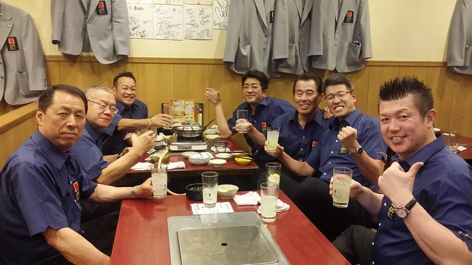 「第3回全日本フルコンタクト空手道選手権大会」も、初日が無事に終了。_c0186691_1232121.jpg