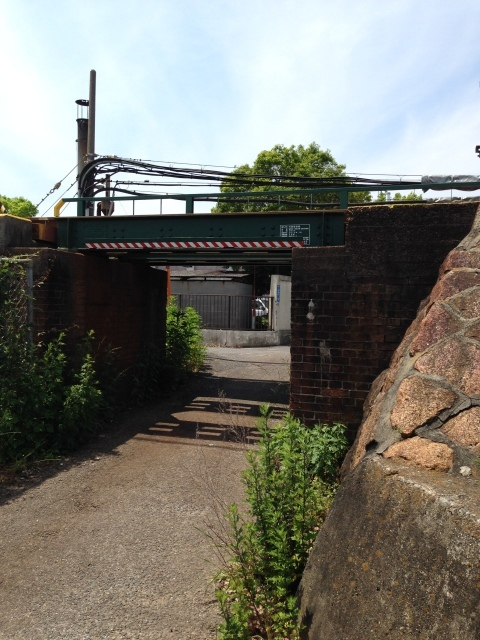 煉瓦積みの古い橋脚のたもとで過ごす時間。_a0334793_22330161.jpg