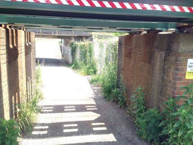 煉瓦積みの古い橋脚のたもとで過ごす時間。_a0334793_22370434.jpg