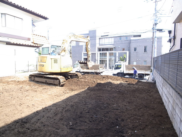 解体工事終了ー善福寺の家2_f0223603_18211848.jpg