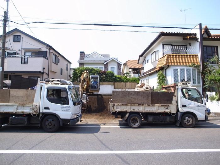 解体工事終了ー善福寺の家2_f0223603_182141.jpg