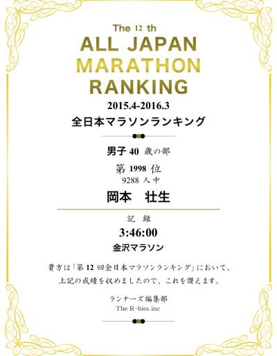全日本マラソンランキング_a0210340_18275653.jpg
