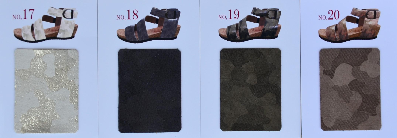 """BARCLAY~35色から選べるサンダル~Color Sample""_d0153941_15261477.jpg"