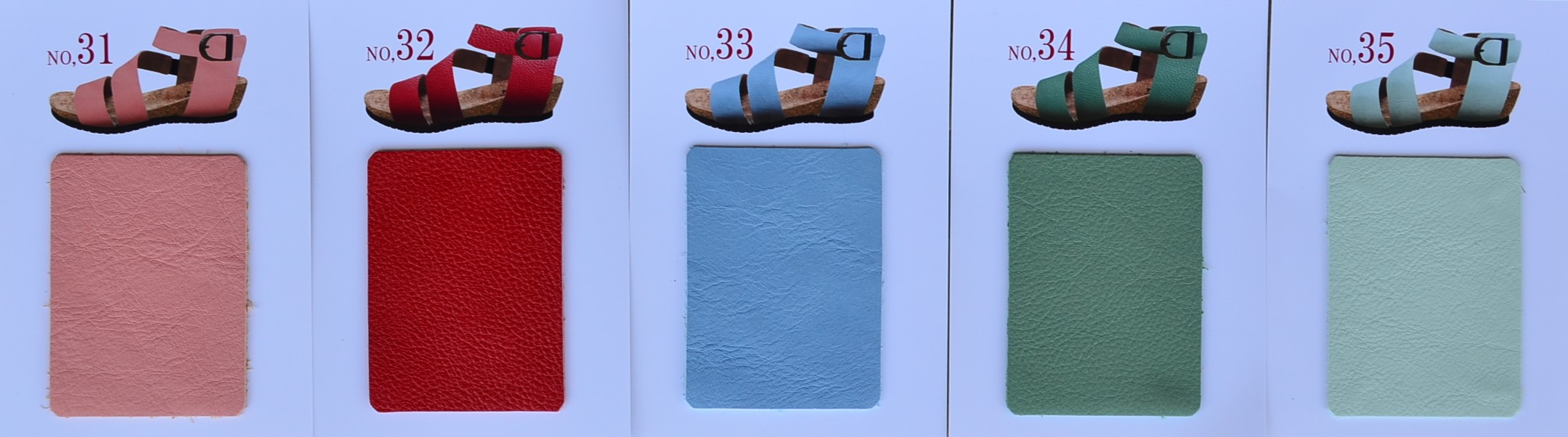 """BARCLAY~35色から選べるサンダル~Color Sample""_d0153941_15265041.jpg"