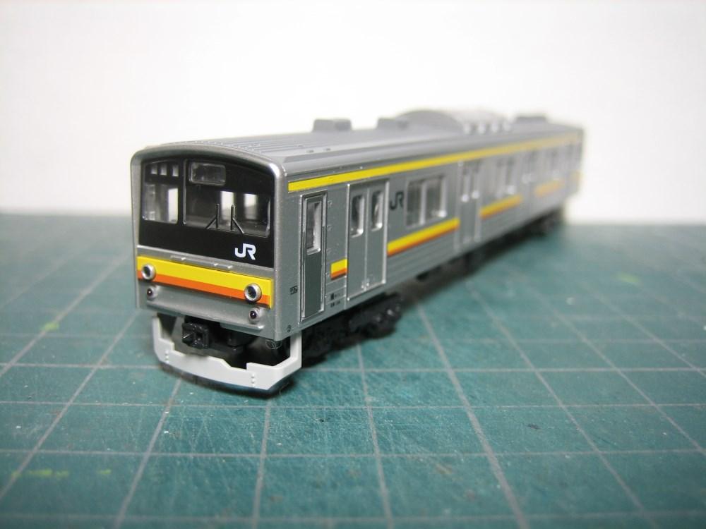 KATO 205系南武線シングルアームパンタ6輌セット入線_e0120143_2373132.jpg