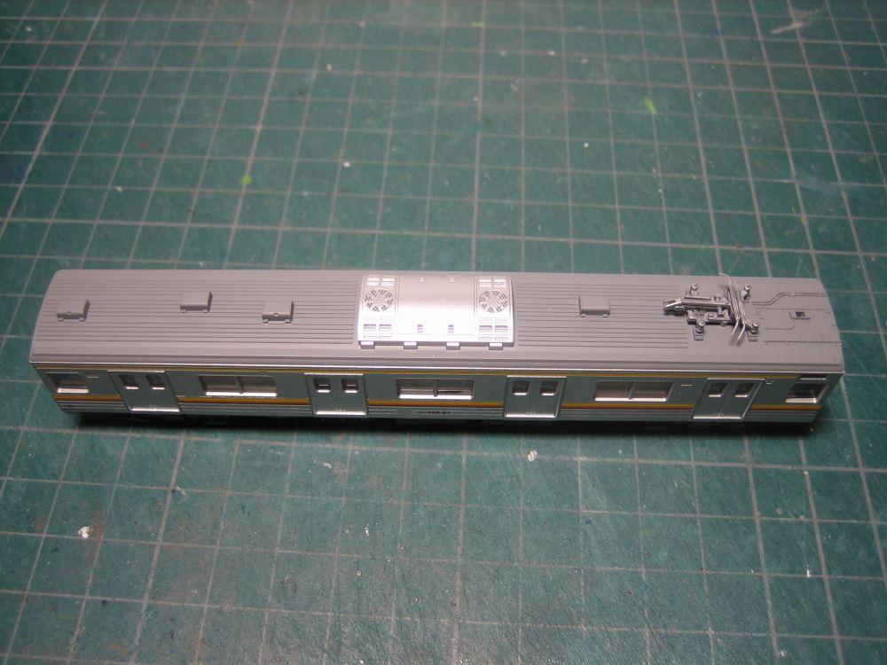 KATO 205系南武線シングルアームパンタ6輌セット入線_e0120143_2374598.jpg