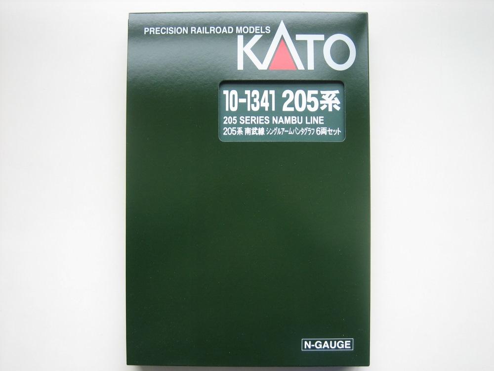 KATO 205系南武線シングルアームパンタ6輌セット入線_e0120143_237850.jpg