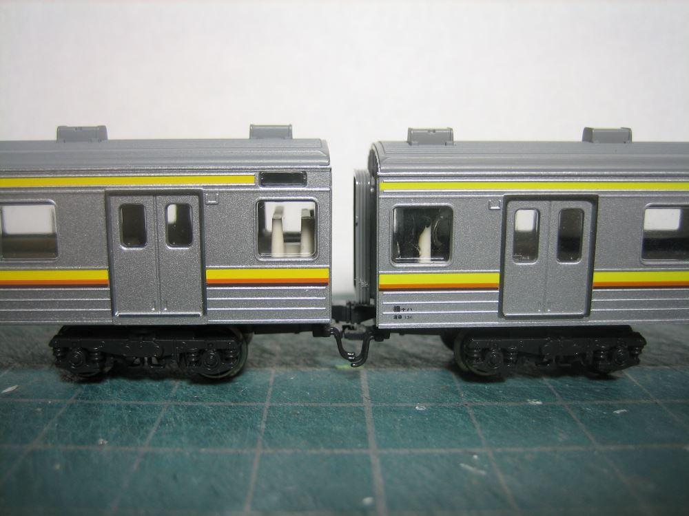 KATO 205系南武線シングルアームパンタ6輌セット入線_e0120143_238251.jpg