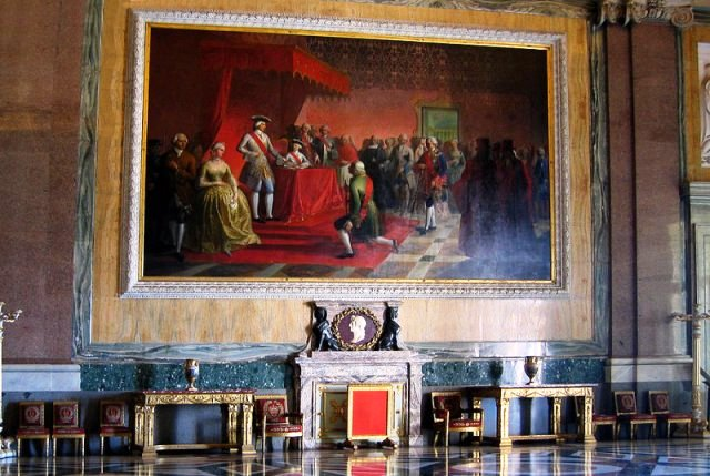 カセルタの王宮とフェルディナンド4世_e0224461_23541811.jpg