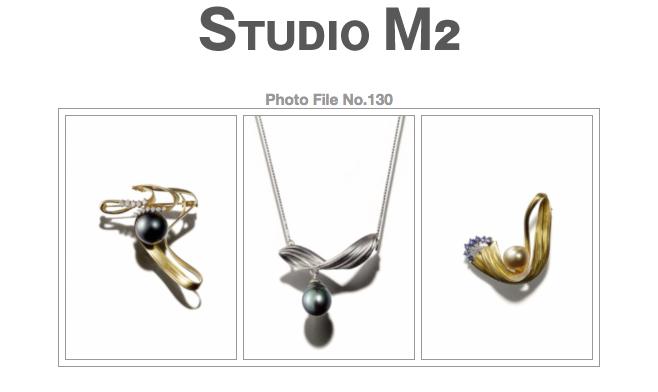 STUDIO M2 Photo File No.130「内田良子さんの蜜蝋鋳造のジュエリー作品  真珠」_a0002672_1732096.jpg
