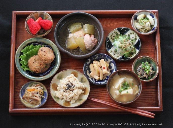 肥える月曜日(´・_・`) ✿ 今日のbento&味見御膳♪_c0139375_11582498.jpg