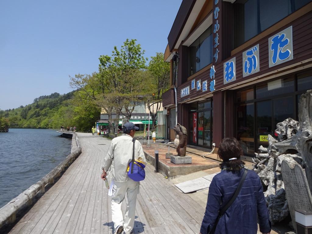 帰青今年2回目 【5/18】 快晴の十和田湖と奥入瀬渓流_d0061678_16522077.jpg