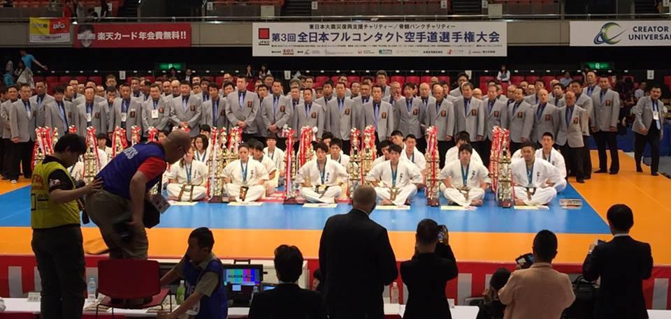 史上最大のオープントーナメント「第3回全日本フルコンタクト空手道選手権大会」が無事に終了出来ました。_c0186691_114075.jpg
