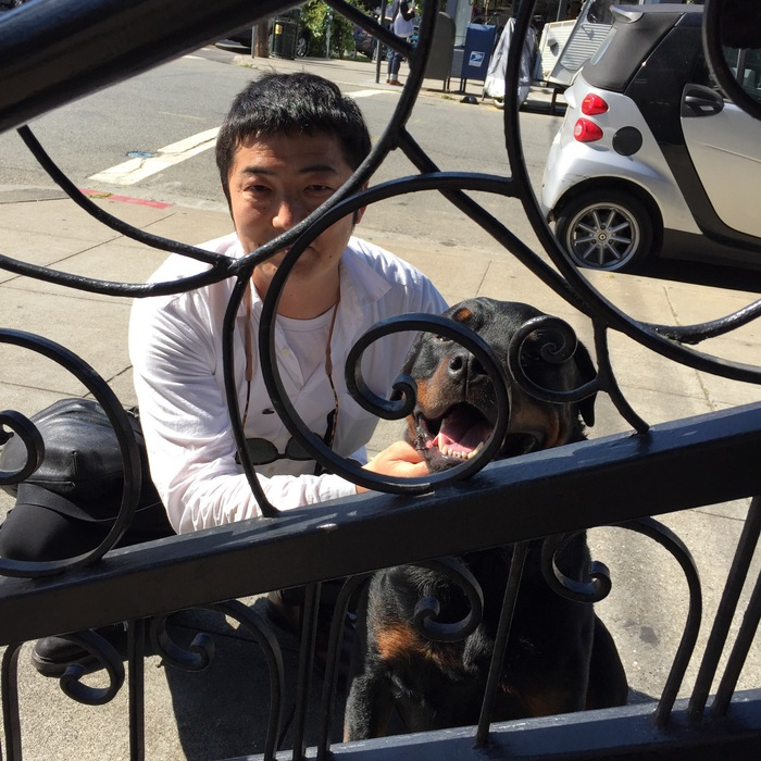 犬とYシャツと_f0170995_21101066.jpg