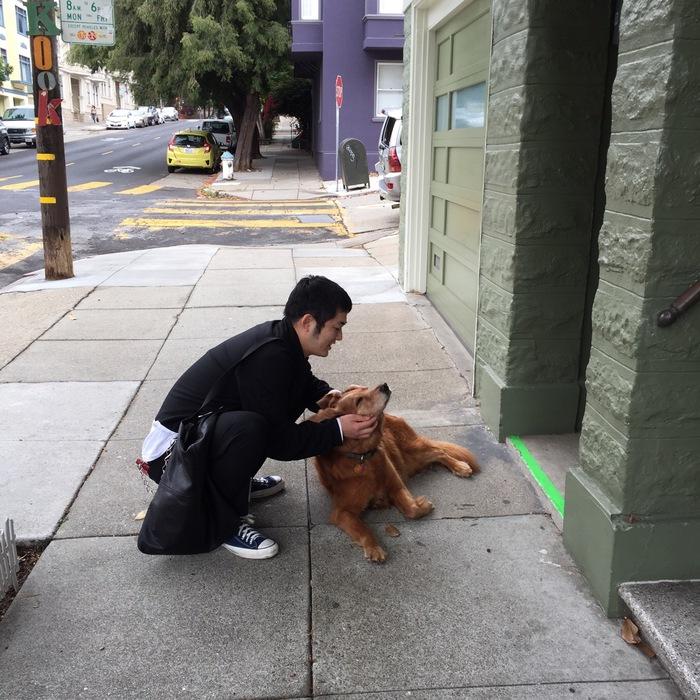 犬とYシャツと_f0170995_2182020.jpg