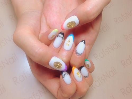 New Nail( *´艸`)_c0294909_1733259.jpg