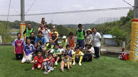 ゆるUNO 5/15(日)  at UNOフットボールファーム(新コート)_a0059812_0595522.jpg