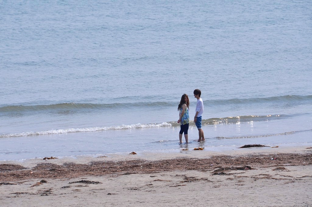 由比ヶ浜 Sunday afternoon_d0065116_22505674.jpg